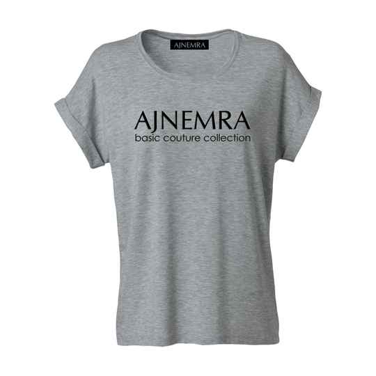 T-SHIRT Basic Couture Collection Gray-Black