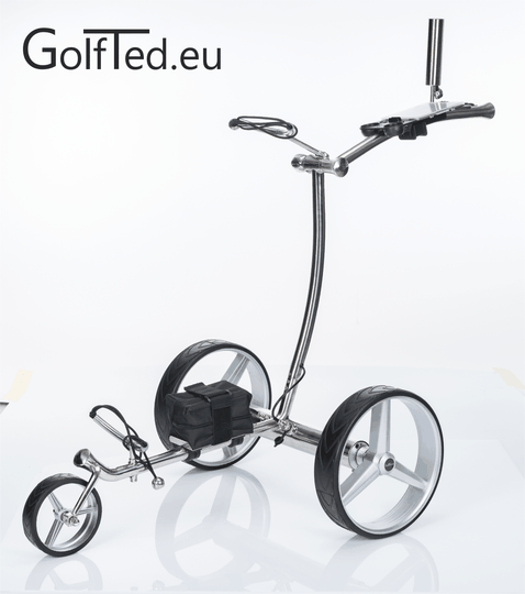 GT-R  Electric golf trolley with remote control including all accessories