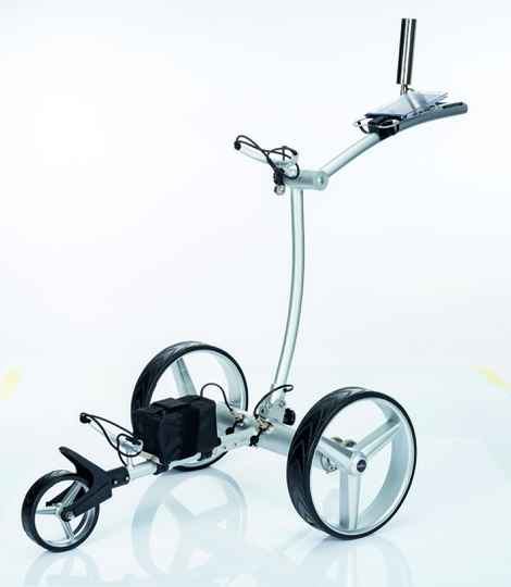 GT-AR Lightweight ALUMINUM Electric Golf Cart with REMOTE CONTROL and Accessories (foldable)