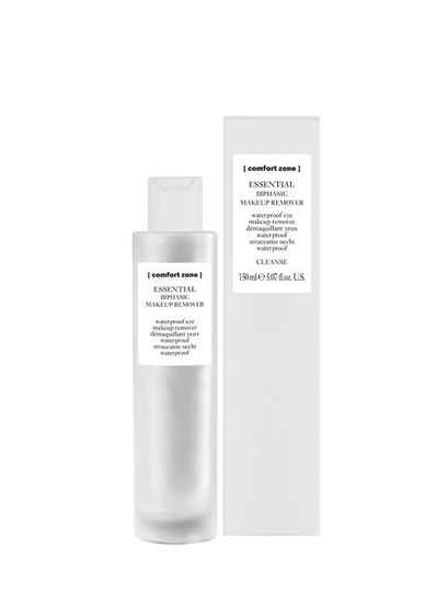 Essential bifasic make-up remover