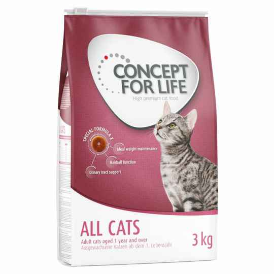 Concept for Life Adult  all cats 3 kilo