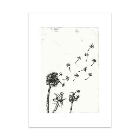 Paardenbloem Art Card