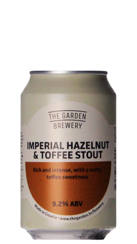 Imperial Hazelnut & Toffee Stout - 9,2%