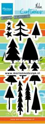 CR1483 trees by Marleen