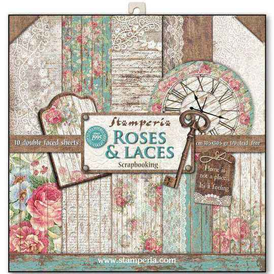 SBBL25 roses & laces