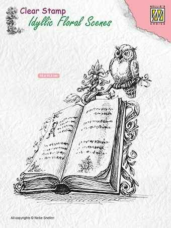 IFS013 book with owl