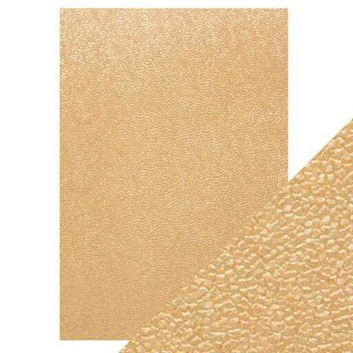 A4 embossed papier square sequins
