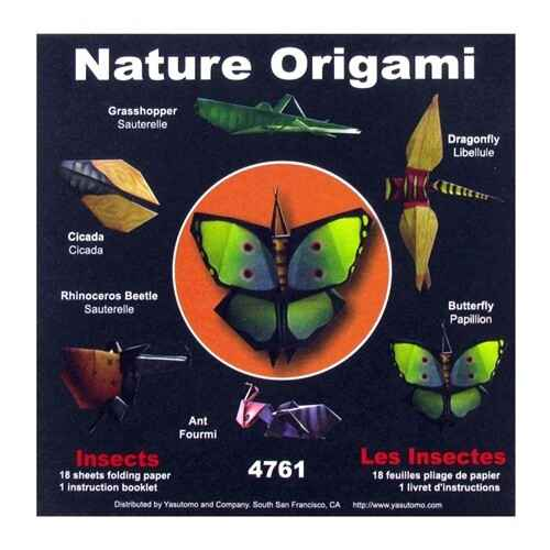 Nature origami - insects