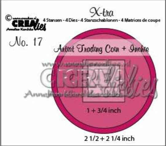 CLXtra17 artist trading coin & inchie