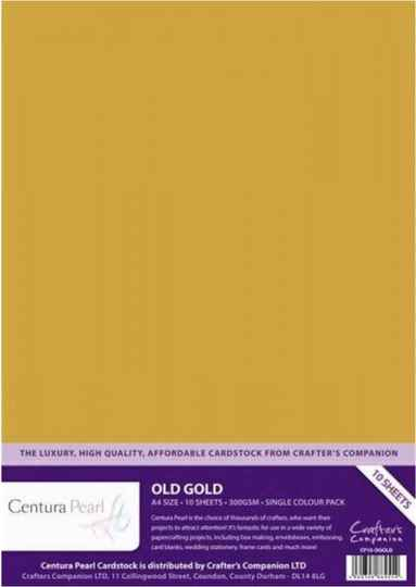 A4 centura pearl old gold