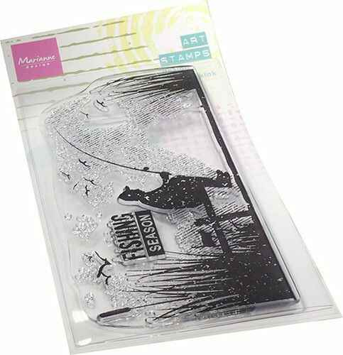 MM1646 art stamps - fishing