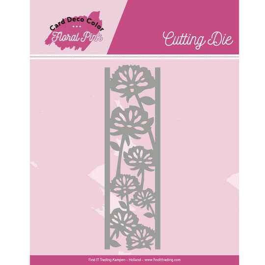 CDCCD10004 floral pink border