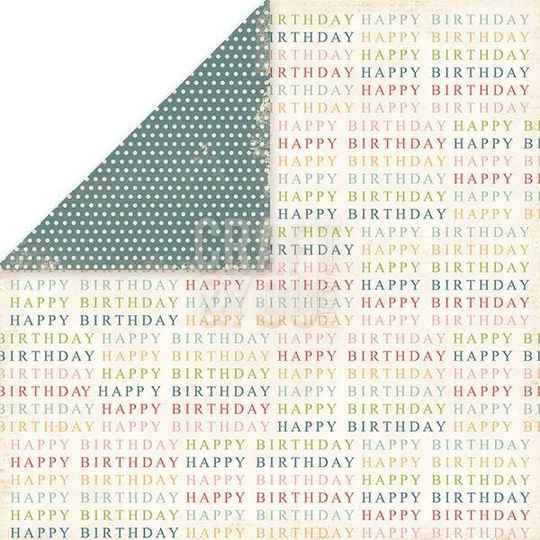 Birthday Party - paper nr.2