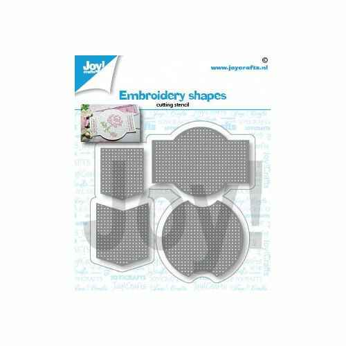 6002/1432 embroidery shapes