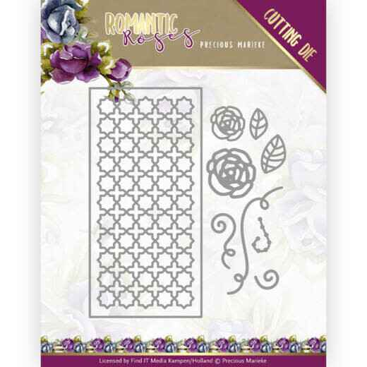 PM10199 rose fence rectangle
