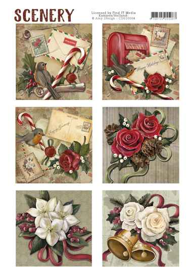 CDS10004 christmas roses