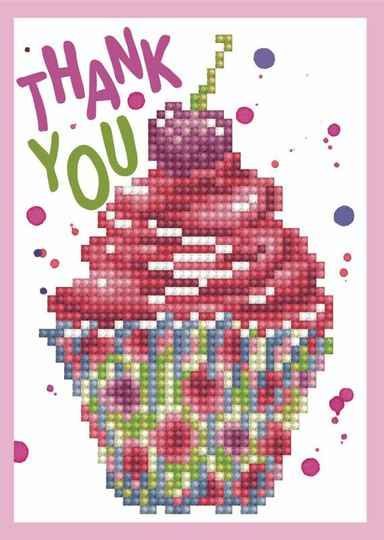 DDG.025 cup cake thank you