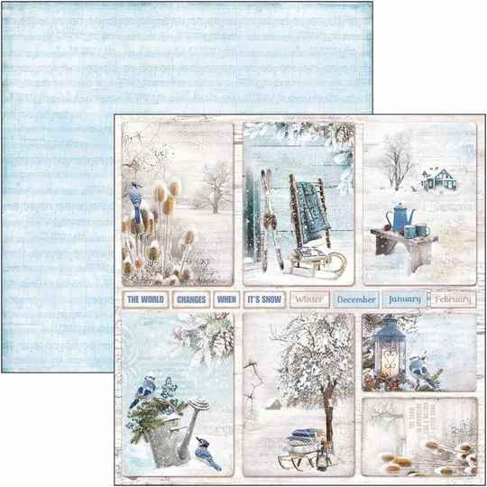 Time For Home - winter cards