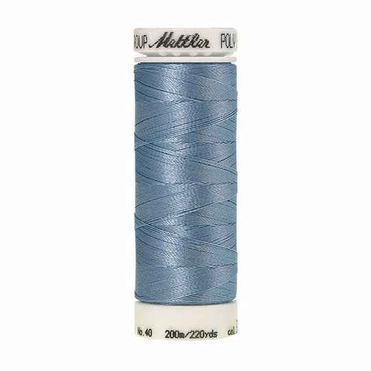 Poly sheen uni 3762 country blue