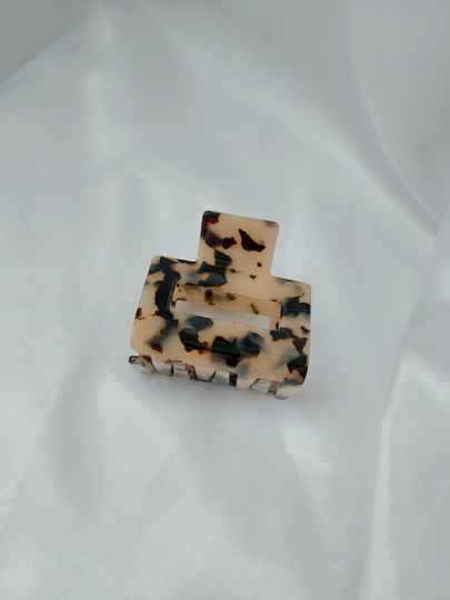 Hairclip small   beige