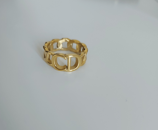 CD chain ring | goud