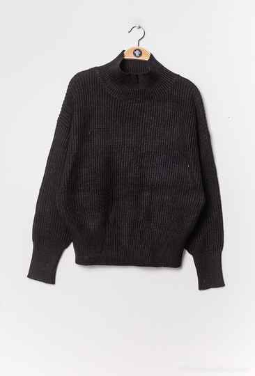 Nora knitted trui   black