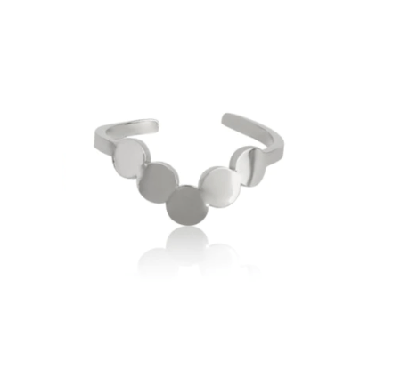 Ring v rounds | zilver