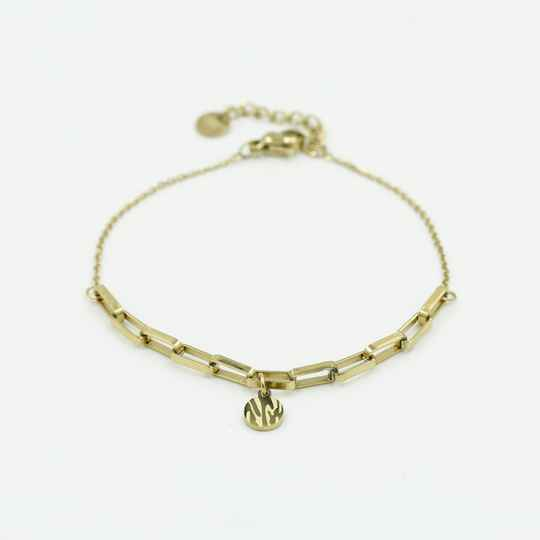 Chain bracelet animal | goud