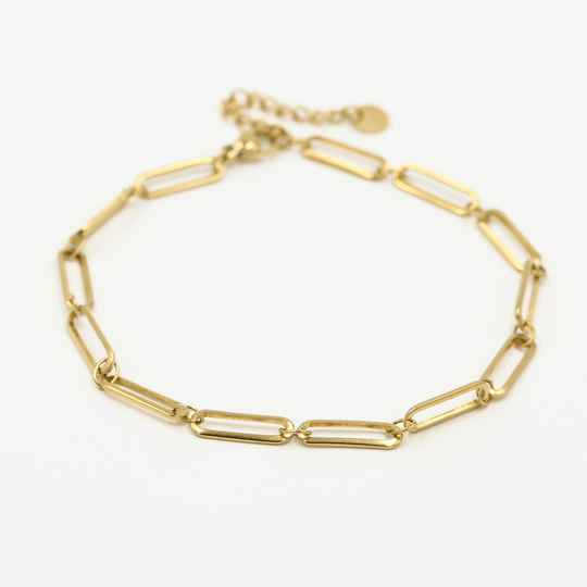 Anklet chain | goud