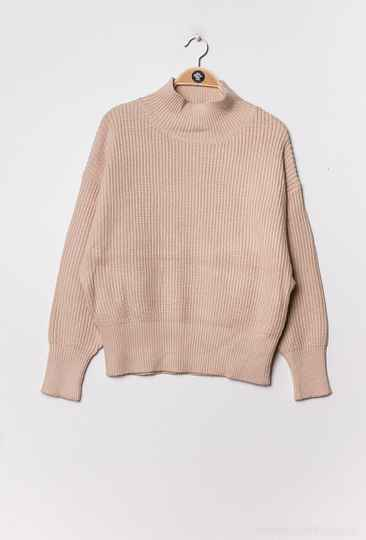 Nora knitted trui   beige