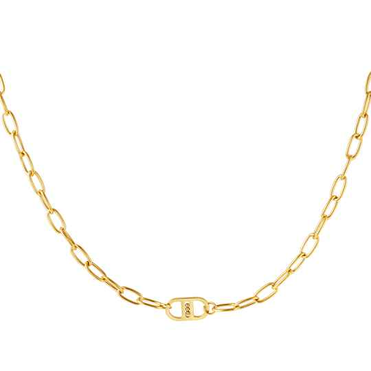 Chain necklace DD simple | goud