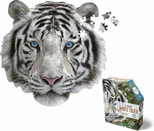 Puzzel I AM White Tiger