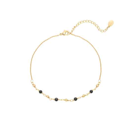 Ankle bracelet small beads