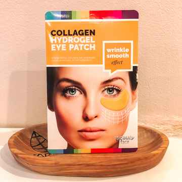 Beautyface anti-rimpel oogvliesmasker met collageen