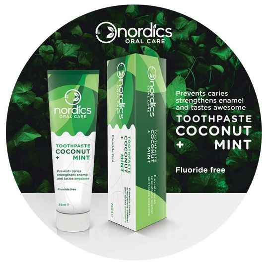 Nordics Toothpaste Coconut mint