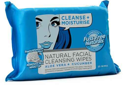 Fuss Free Face Wipes Cleanse & Moisturise