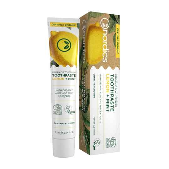 Nordics tandpasta Lemon Mint BIO met fluoride