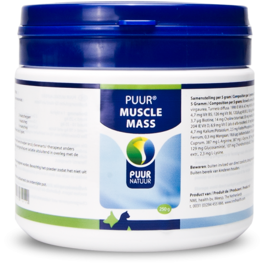 PUUR Muscle mass / spieropbouw