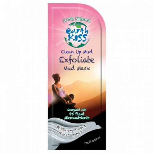 Earth Kiss clean up Mud Mask exfoliate