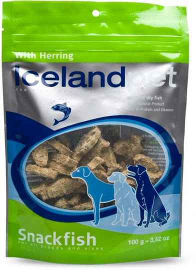 Icelandpet Dog treat - Herring