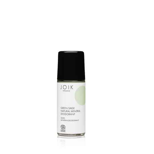 JOIK Green Sage mineral deodorant - glass bottle