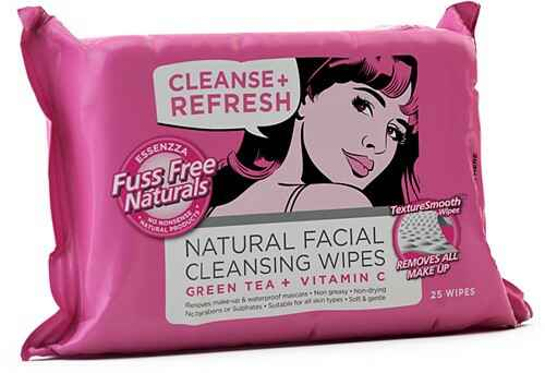 Fuss Free Face Wipes Cleanse & Refresh