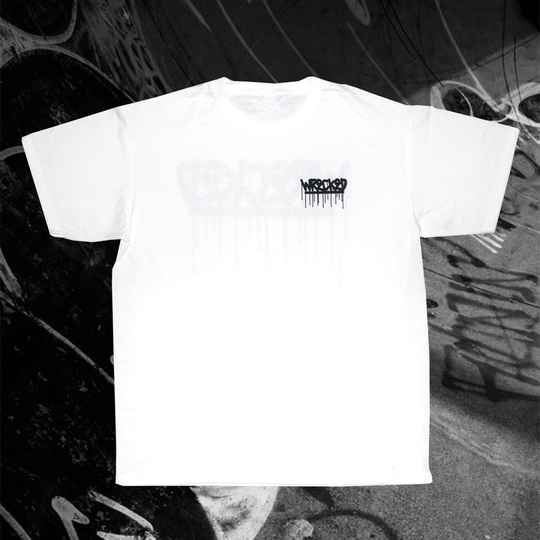 Drippy Tee WHITE