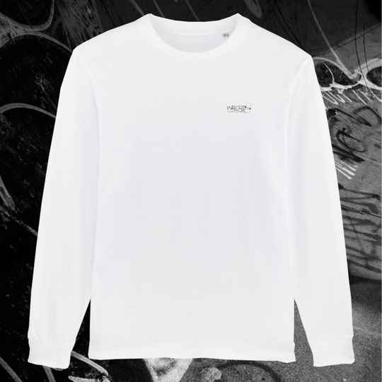 On Fire Longsleeve - White
