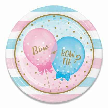 gender reveal bordjes 13 cm