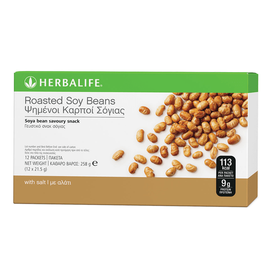 3143 Roasted Soy Beans 12 per box 21.5g