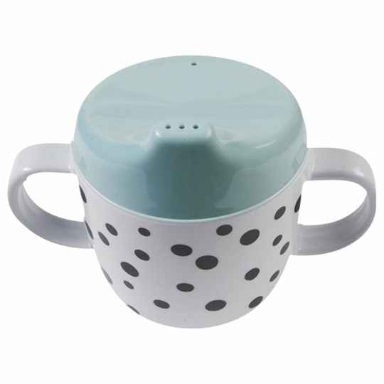 TUITBEKER DOTS BLAUW