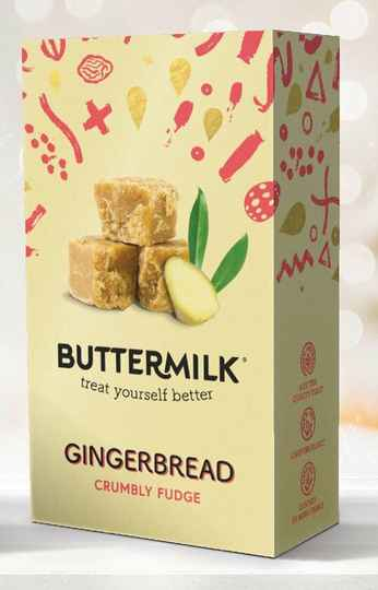 Buttermilk Gingerbread Fudge 100 gr.