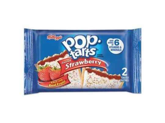 2Pck POPTARTS FROSTED STRAWBERRY