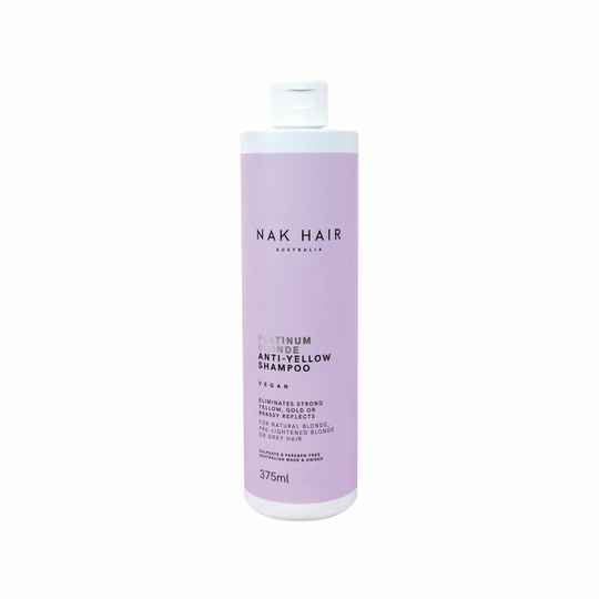 NAK platinum blonde anti-yellow shampoo